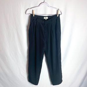 Harlyn Anthropologie Black Trouser Pants
